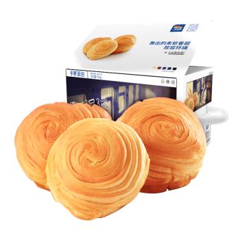 三只松鼠手撕面包 饼干蛋糕千糕点零食酵母面包代餐早餐口袋软面包礼盒 1000g/盒