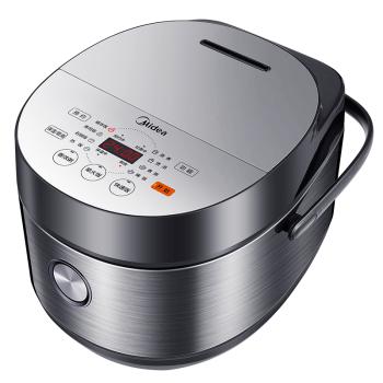 美的(Midea)电饭煲电饭锅4L触摸操控智能预约一键香浓粥多功能电饭煲MB-FB40E511(24