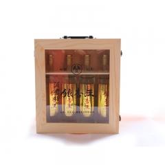 【沂蒙人家】银杏王酒木装礼盒临沂特产礼品 白酒酒水送礼礼品