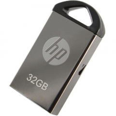 HPV222 U盘  金属黑曜石银色