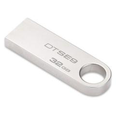 金士顿(Kingston)32GB U盘 DTSE9H 金属 银色 精巧时尚 稳定可靠