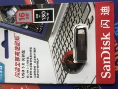 <博观>闪迪16GB 优盘 银白 16G