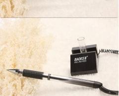 <博观> 宝克PC-850台笔 电话线笔 帐台笔笔固定式台笔 黑色 0.5