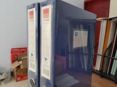 <博观> 雨文YW-235 档案盒35mm 深蓝色 浅蓝色 3.5CM 1