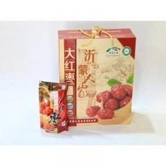 【山妞】山东大红枣临沂特产200g*6袋礼盒装小吃休闲零食年货