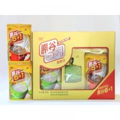 【山妞】原谷6+1粗粮饮660g*2精品礼盒装特产红枣核桃早餐健康