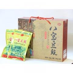 【山妞】特产店琅琊崮乡八宝豆豉200g*8袋山东特色礼品盒装小吃调料调味品拌饭拌面酱