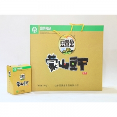 【山妞】蒙山豆干豆黄金960g山东特产礼品盒装小吃调料调味品拌饭拌面酱