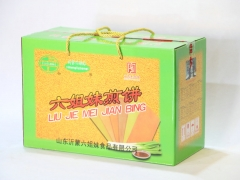 【山妞】沂蒙六姐妹煎饼300g*6袋山东临沂特产特色产品礼盒装送礼年货