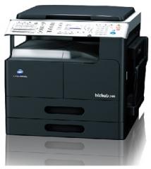 柯尼卡美能达bizhub206(复印打印扫描)  标配+双面输稿器+双面器+工作柜