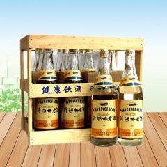 【沂蒙六姐妹土特产超市】沂河桥70年代老酒 52度°高度 一箱6瓶 每瓶500ml装  老朋友老味道