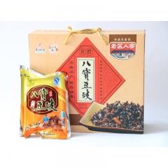 【沂蒙人家】齐鲁名产沂蒙农家老区人家八宝 豆豉 200g*8袋小吃调料调味品拌饭拌面酱