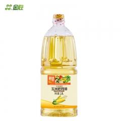 【金胜】金胜玉米胚芽油非转基因物理压榨食用油1.8L包邮