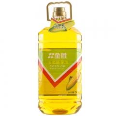 【金胜】金胜玉米胚芽油5L 非转基因 压榨一级 清香不油腻 金胚玉米油