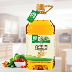 【金胜】 一级压榨花生油 物理压榨食用油 4L 包邮