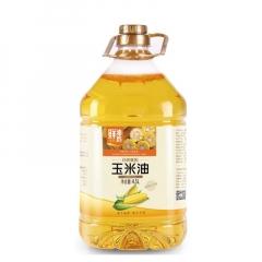 【金胜】金胜玉米油4.5L物理压榨非转基因食用油