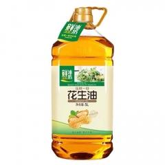 【金胜】金胜压榨一级花生油5L装食用油包邮