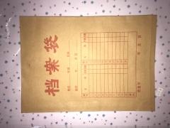 【丁丁办公】牛皮档案袋A4  150g