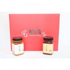 【沂蒙红嫂土特产】蜂窝媒天然成熟自产纯净枣花蜂蜜野生槐花蜂蜜500g*2瓶