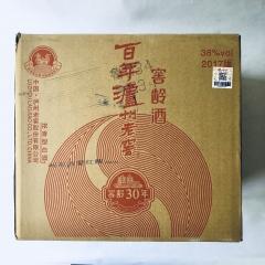 【沂蒙红嫂特产超市】泸州百年三十年窖龄酒38°  一箱(1×6瓶装) 每瓶500ml
