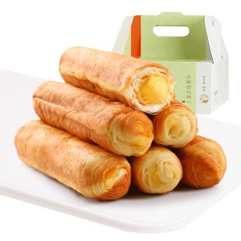 良品铺子高端零食 手撕面包棒 糕点面包营养早餐即食小吃750g