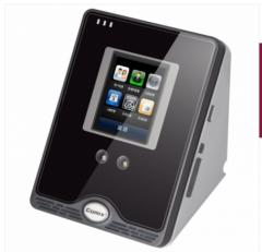 <博观>齐心OP500C 免软件指纹机 黑银 黑色 OP500C 1