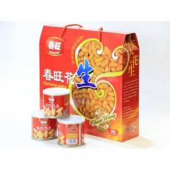 【山妞】春旺咸味花生155g*12罐精品装临沂特产小吃休闲零食